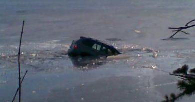 Utopené BMW